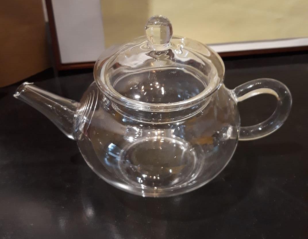 teiera vetro fiori di tè mini teierina 200 bouquet