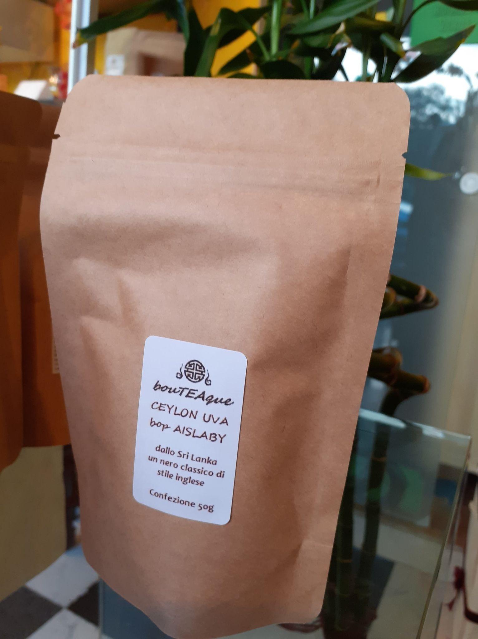 ceylon uva bop stile inglese tè nero sri lanka