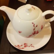 "Tea-for-one teiera tazza porcellana bone china ""teiera inglese"""