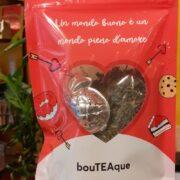 """""""san valentino"""" coppia innamorati regalo ragazza fidanzata tè ciliegia infusi """"frutti di bosco"""""""