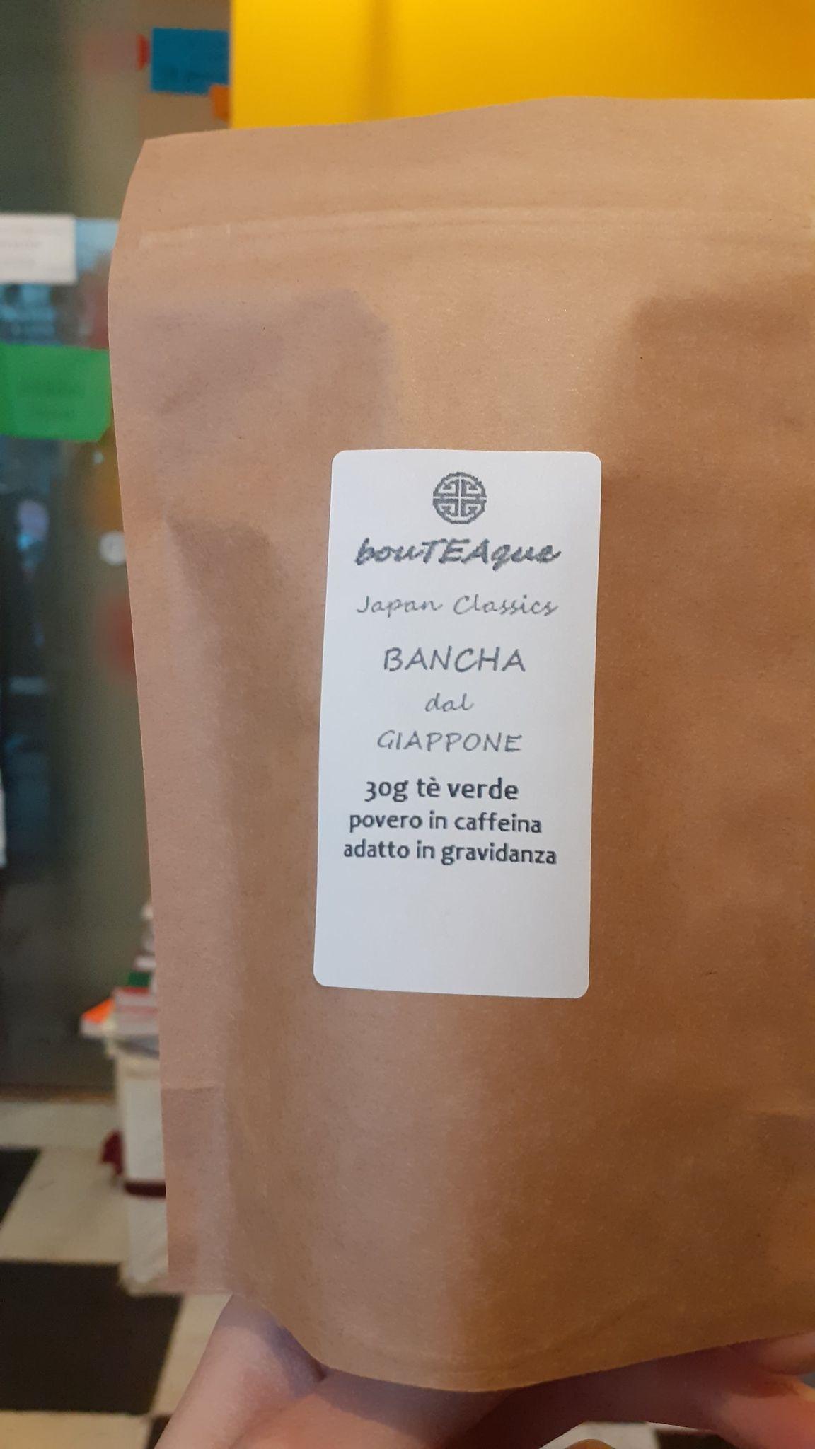 bancha tè verde giapponese giappone poca caffeina