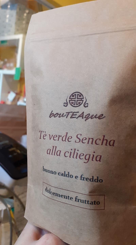 """tè verde ciliegia sencha """"tè freddo"""" frutta fruttato"""