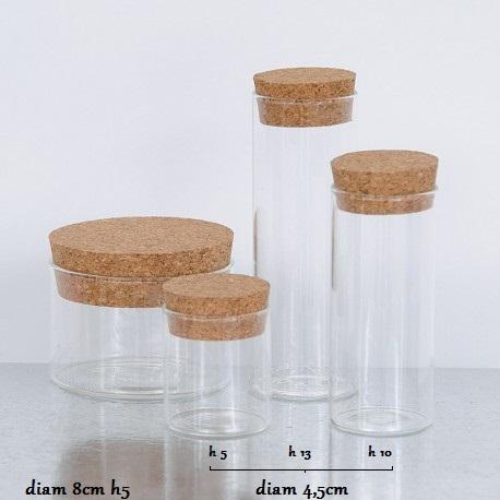 vasetto vetro bomboniere